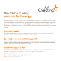 Ethical guidelines and consent 1 - Just Checking