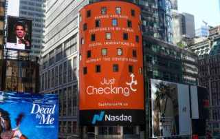 Times Square Tribute to NHS Initiative 1 - Just Checking